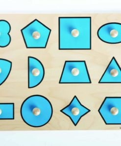 Insert puzzle: geometrical shapes - Rolf