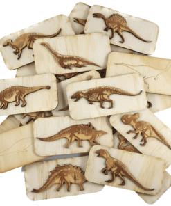Dinosaur fossil stamps - 5 Little Bears