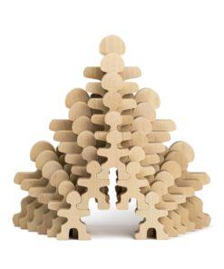 Flockmen Family 30 pieces - Flockmen handmade wooden toys