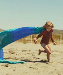 Giant earth playsilk ocean 90 x 275 cm Sarah's Silks