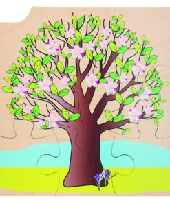 Layer puzzle growth tree - Rolf
