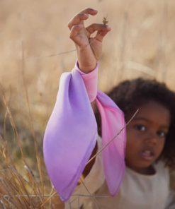Mini Playsilk enchanted blossom 53 x 53 cm – Sarah's Silks