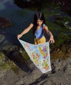 Mini Playsilk kelp forest 53 x 53 cm Sarah's Silks summer 2021 collection5