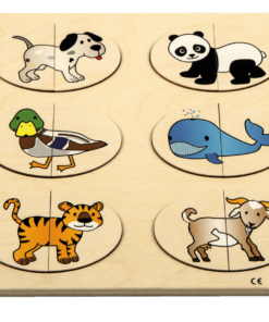Relief puzzle complete the animals - Rolf