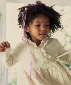 Silk garland hairband in blossom - Sarah's Silks