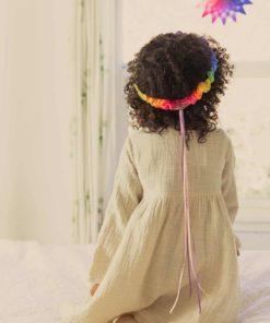 Silk garland rainbow - Sarah's Silks