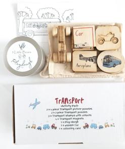 Transport Activity Pack - 5 Little Bears