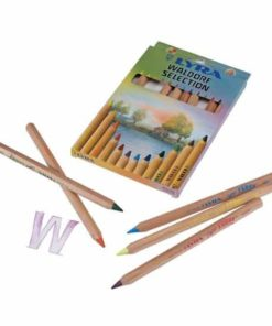 Super Ferby coloured pencils Waldorf assortment 12 colours - Lyra